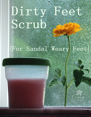 Dirty Feet Scrub