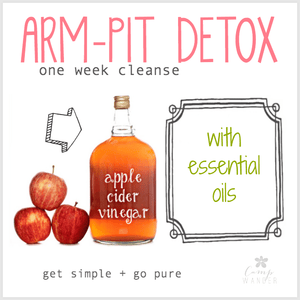 Armpit Detox for Optimal DIY Deodorant Performance