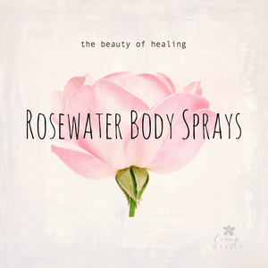 Rosewater Body Sprays