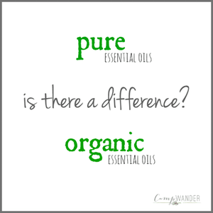 Organic or Pure Essential Oils?