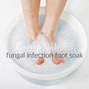 Magnesium Foot Scrub and Detox Soak