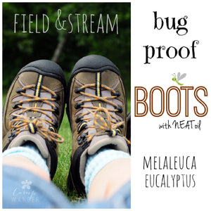 Bug Proof Your Hiking Boots and Socks