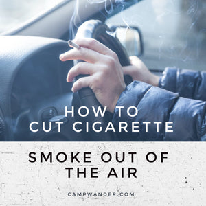 how to cut cigarette smoke out of the air