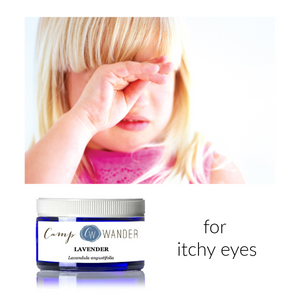 Natural Home Remedy for Itchy Eyes