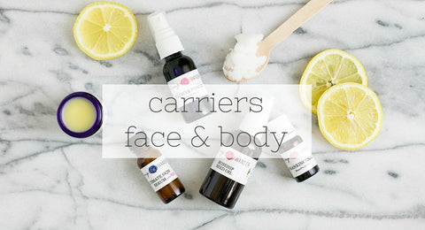 carrier oils face and body