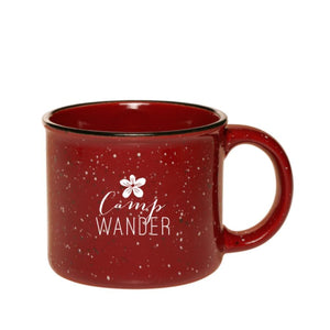 Campfire Coffee Mug - Wine