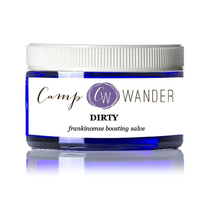 Dirty Carrier Salve (w/Frankincense)