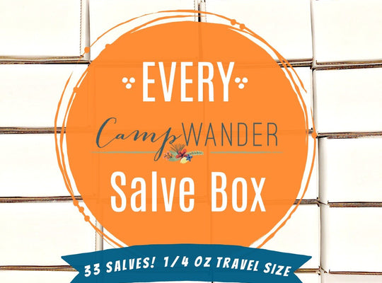 35 Count! Every CW Salve Box