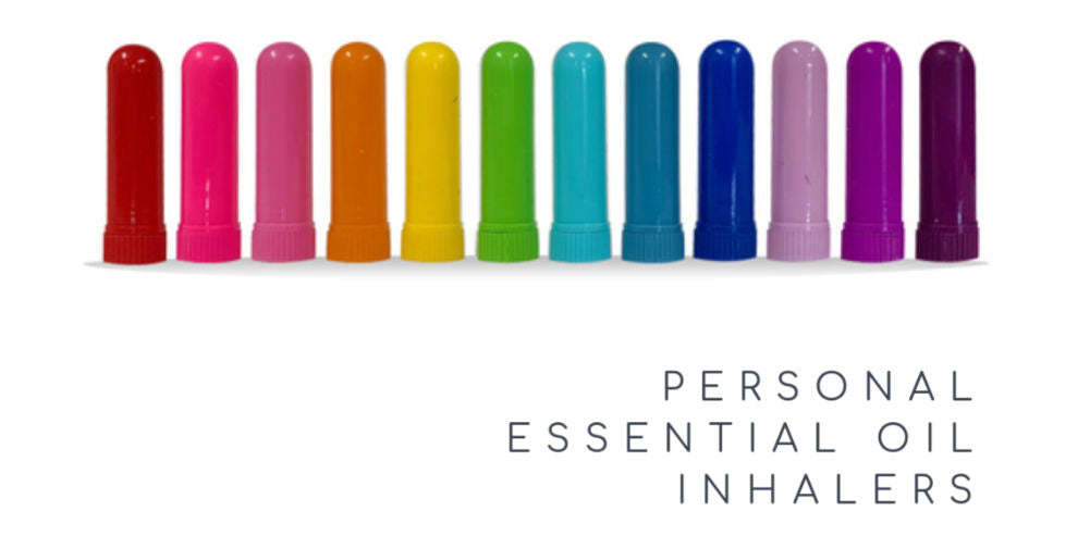 12 Personal Essential Oil Inhalers