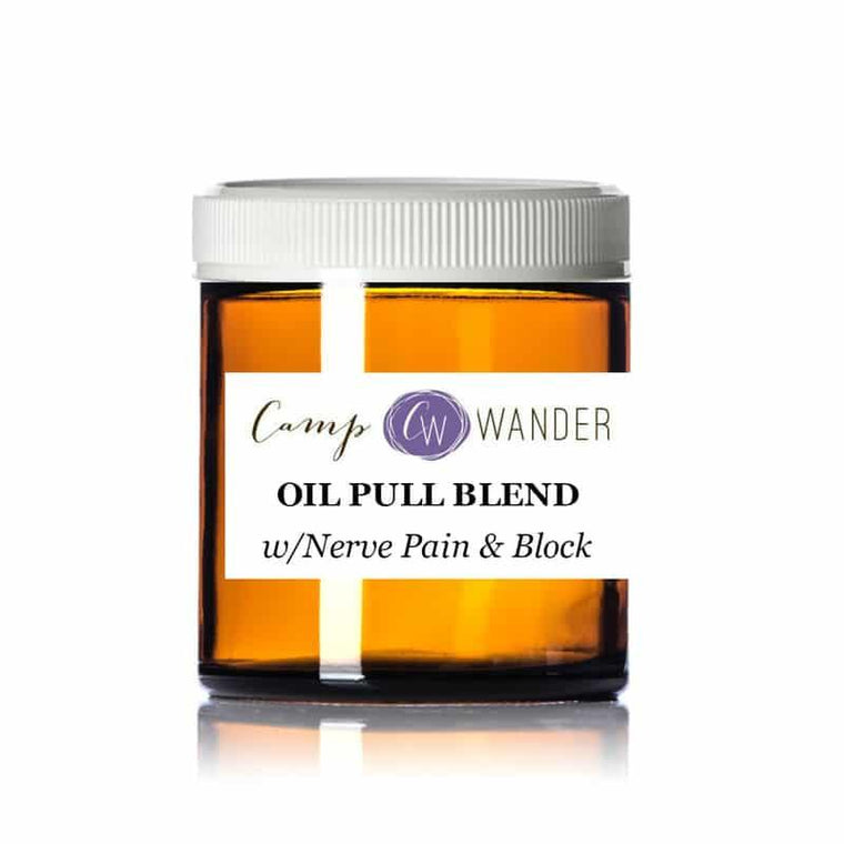 Oil Pull Blend w/Nerve Pain & Block