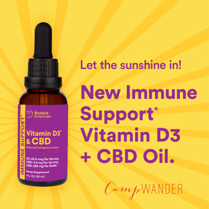 Immune Support Vitamin D3 + CBD