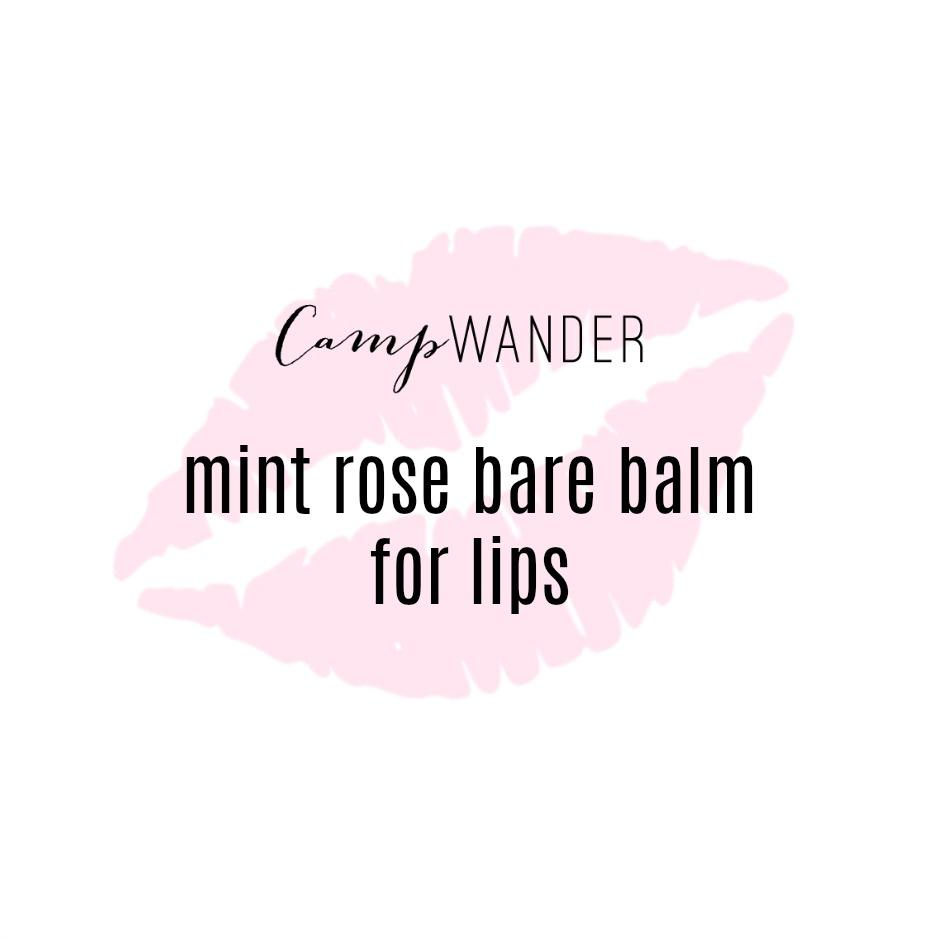 Mint Rose Bare Balm For Lips