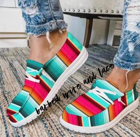 The Extra Serape Shoe