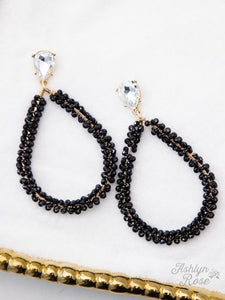 Atoka Earrings (Black)