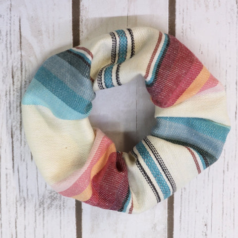 Custom Hair Scrunchies- Agave Red