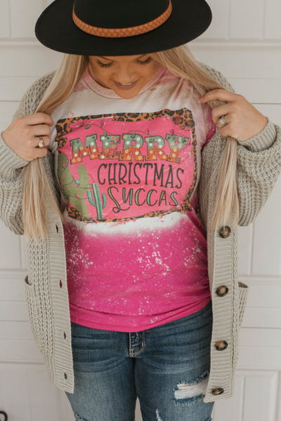Merry Christmas Succas Tee