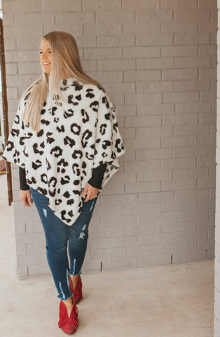 The Turnpike Cheetah Poncho