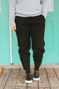 Broken Arrow Joggers (Black)