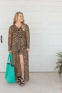 The Leopard Galleria Jumpsuit