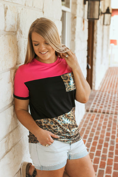 The Sweetwater Top (Hot Pink)