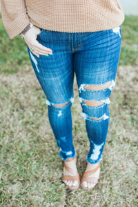Tabitha Distressed Skinnies