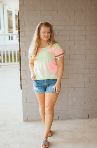 Sunny Day's Tie Dye Top