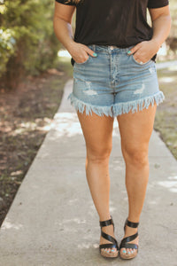 Showdown Denim Shorts