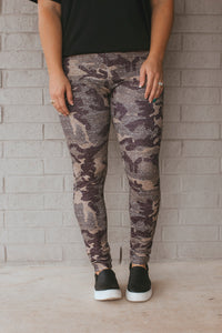 Vintage Camo Leggings