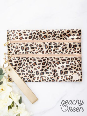 Stay Golden Leopard Versi Bag