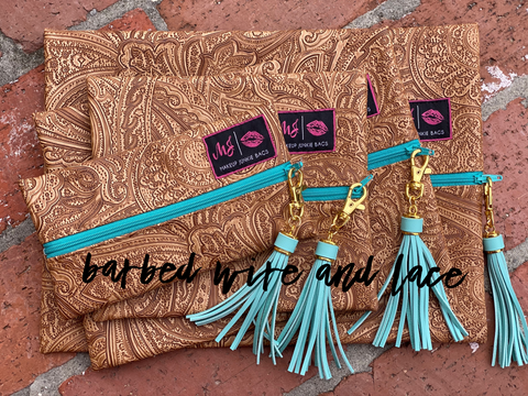 Paisley Dream Set (Exlusive Turquoise Zipper)