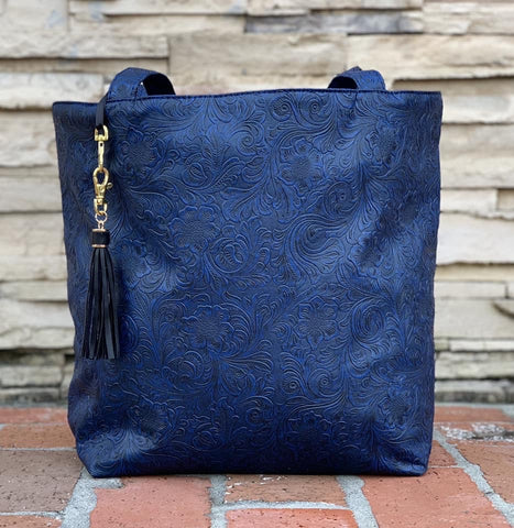 The Indigo Tote