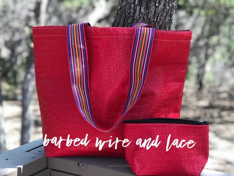 Allie Red Tote