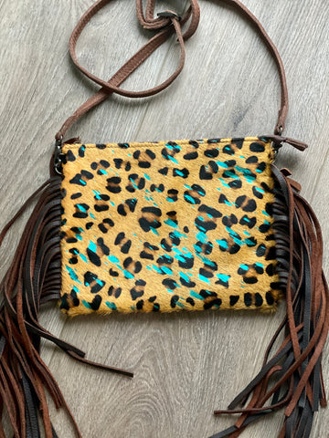 Cheetah Albertville Cross Body