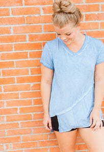 Basic Kait Top-Blue