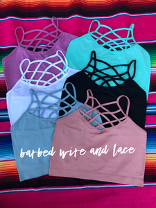 Strappy Bralettes (One Size)
