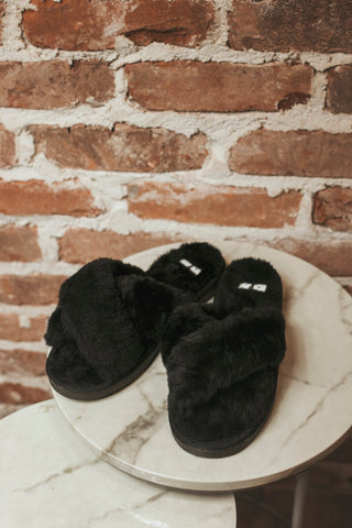 Slumber Slipper- Black