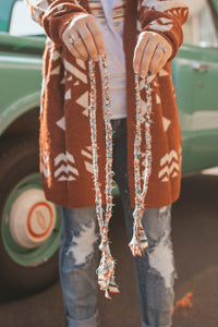 Cielo Serape Necklace