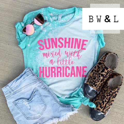 Sunshine Mixed with Hurricane Tee