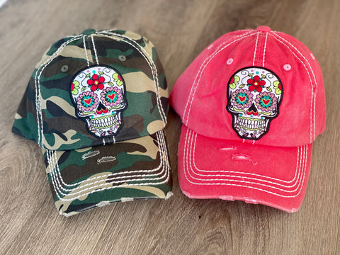 Sugarskull Hats (2 Colors)