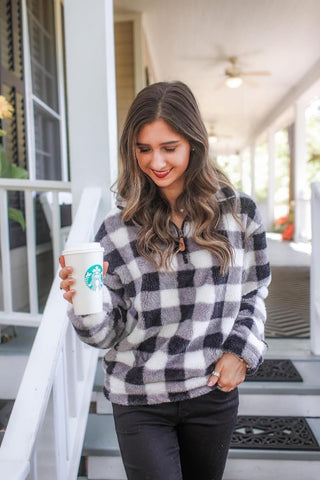 Benny Buffalo Plaid Fleece Pullover