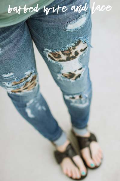 Must Have Leopard Jeans