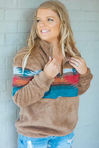 New Mexico Aztec Pullover