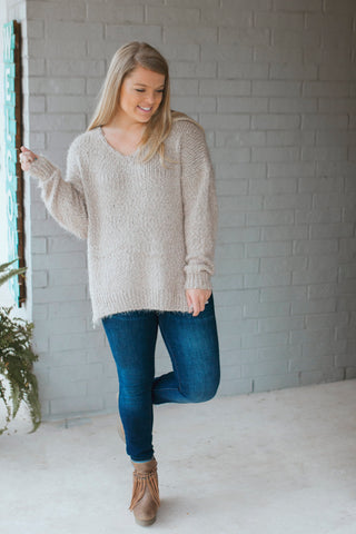 Coco Popcorn Knit Sweater