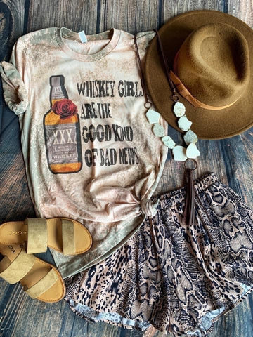Whiskey Girl Tee