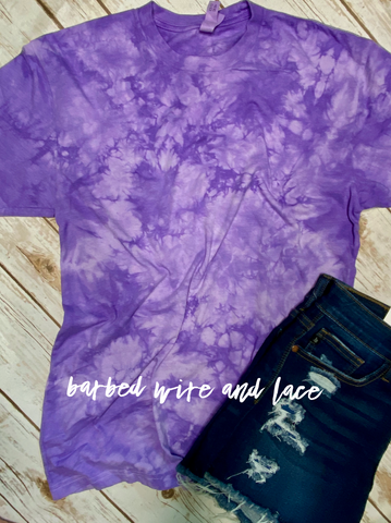 Tye Dye Tee (Purple)