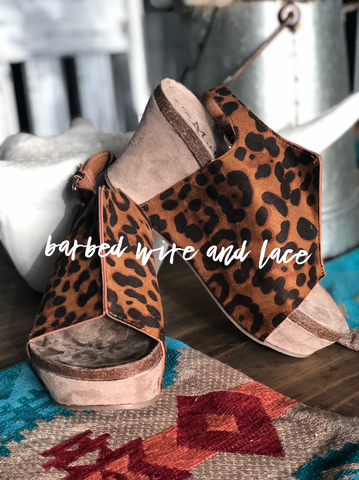 Leakey Leopard Wedges
