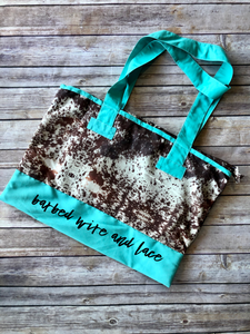 Round Up Tote (Cowhide)