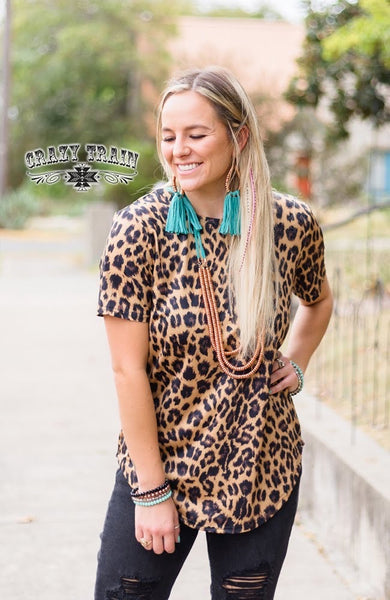 Back Off Top- Leopard