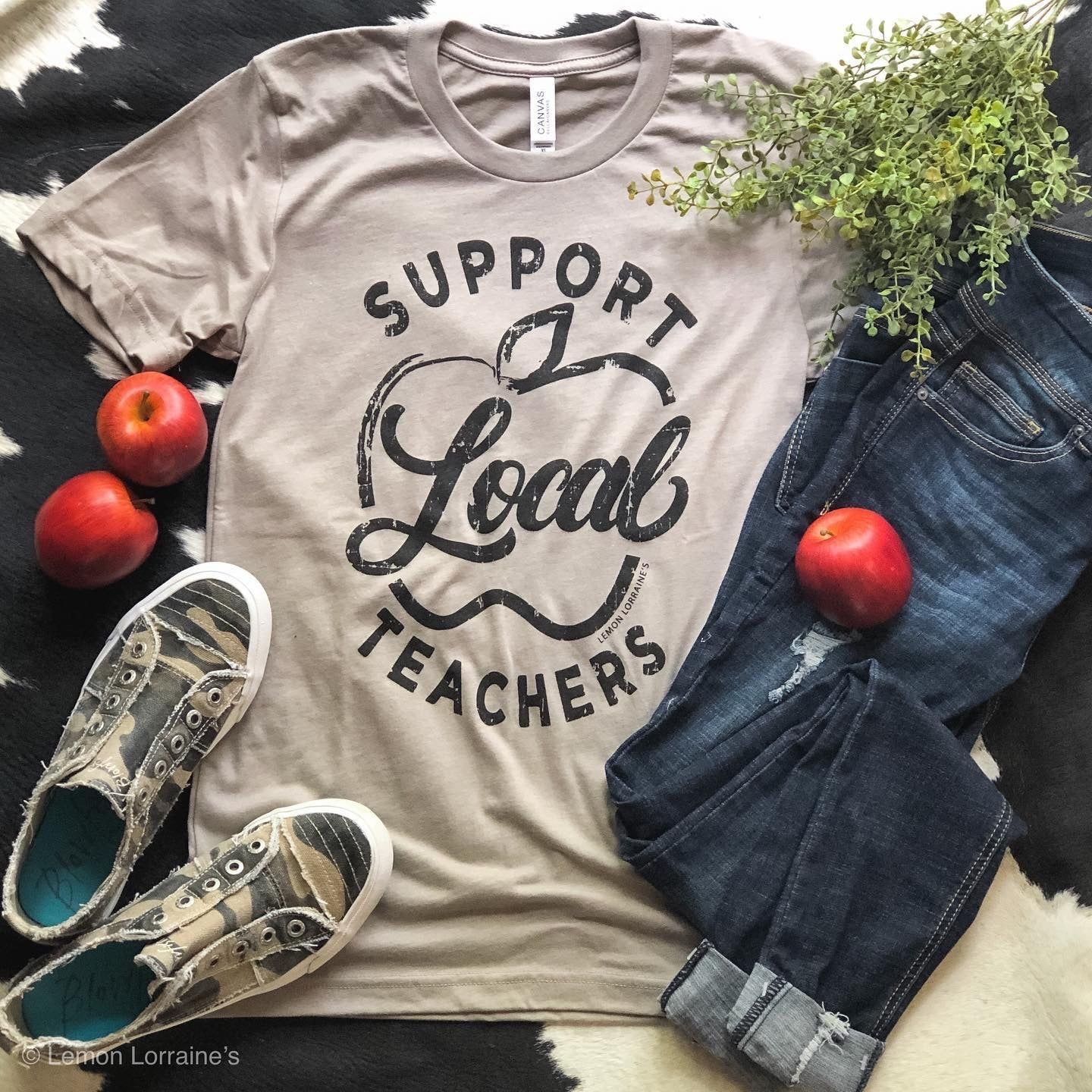 Support Local Teachers Tee