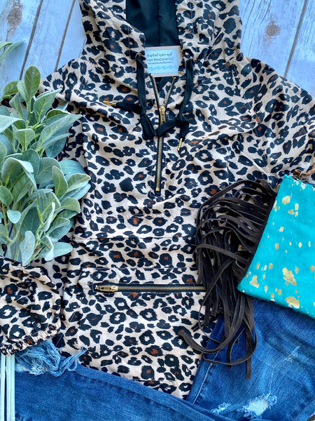 The Lockhart Leopard Jacket